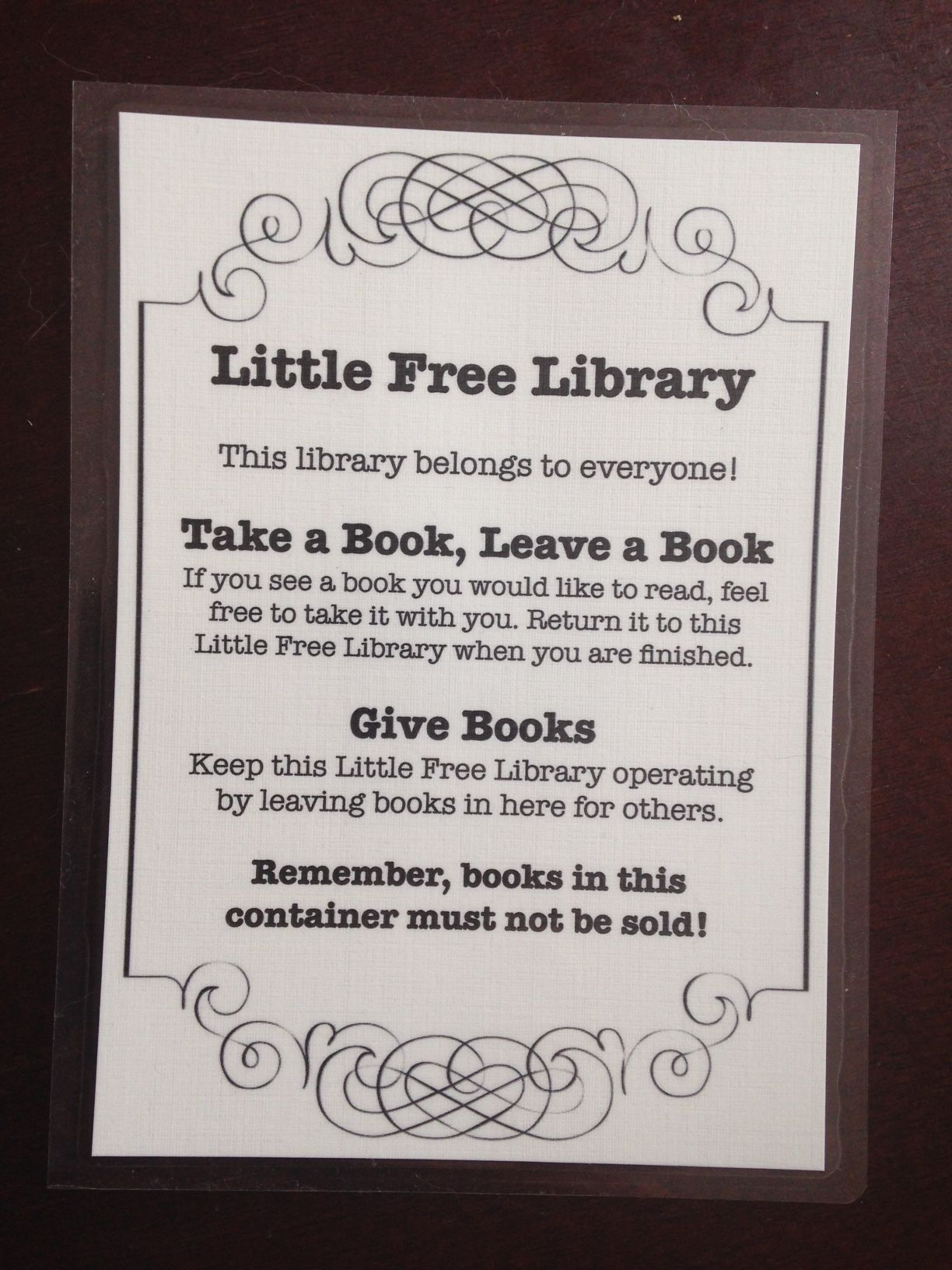 How to Keep Your Little Free Library Stocked Library