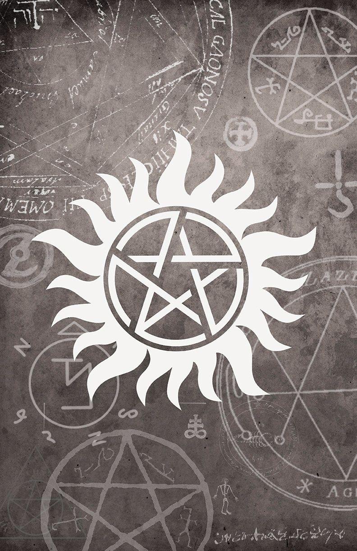 Supernatural Symbol Poster 11 x 17 Glossy Cardstock