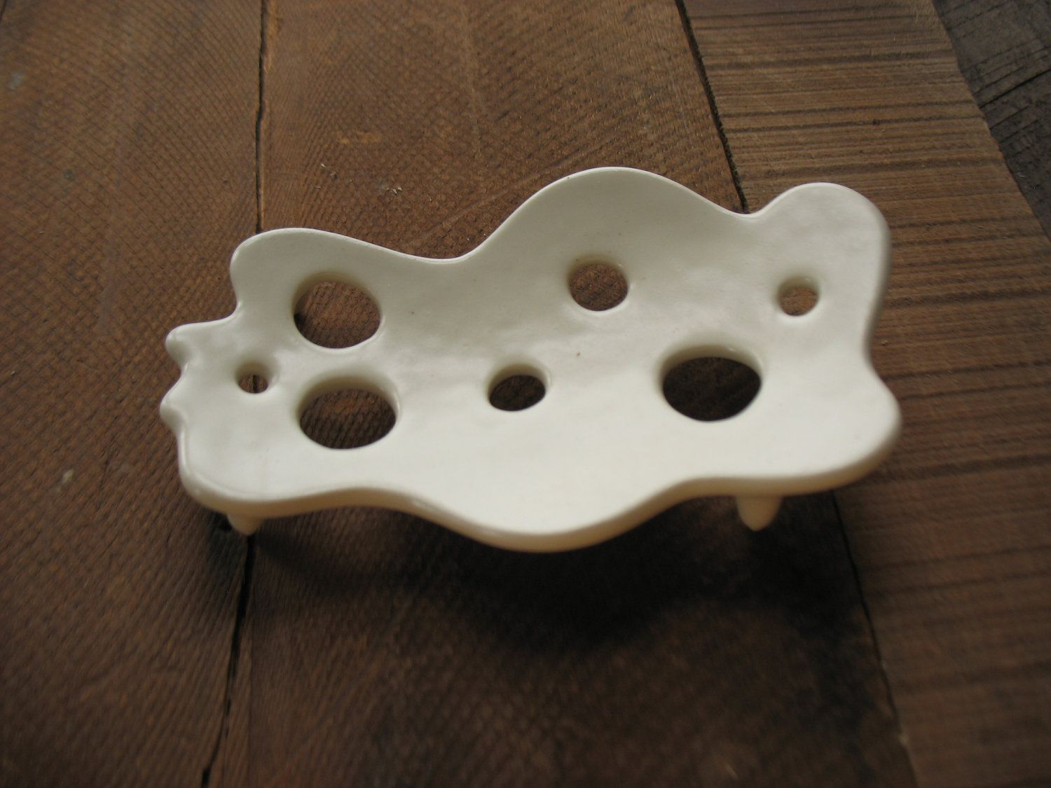 Soap dish, maybe try to make it in polymer? Soap Suds