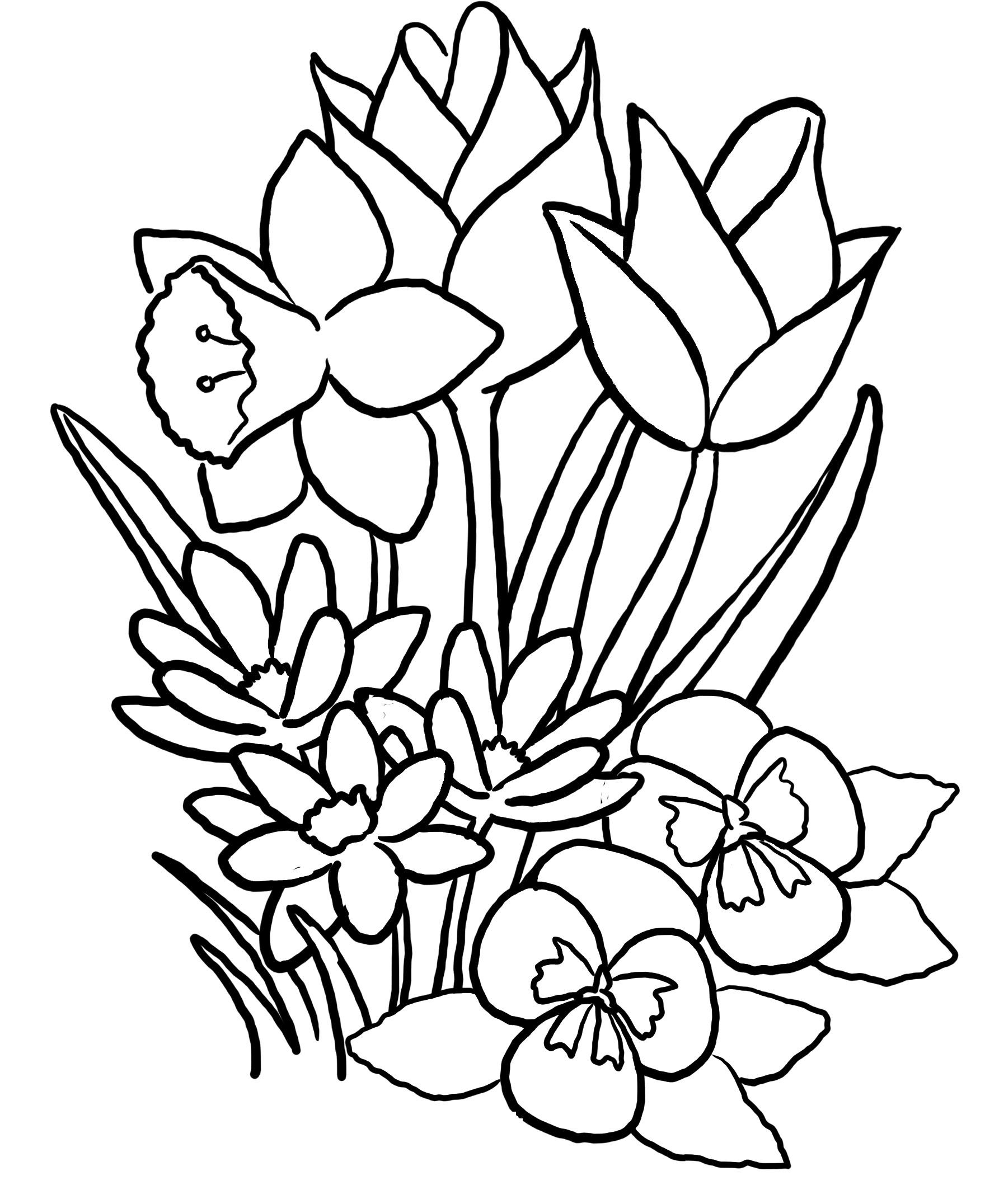 spring coloring pages spring flower flying high with jesus