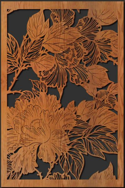 I Like The Piercedetched Look With Colors Behind More Laser Cut Panels Decor Pinterest
