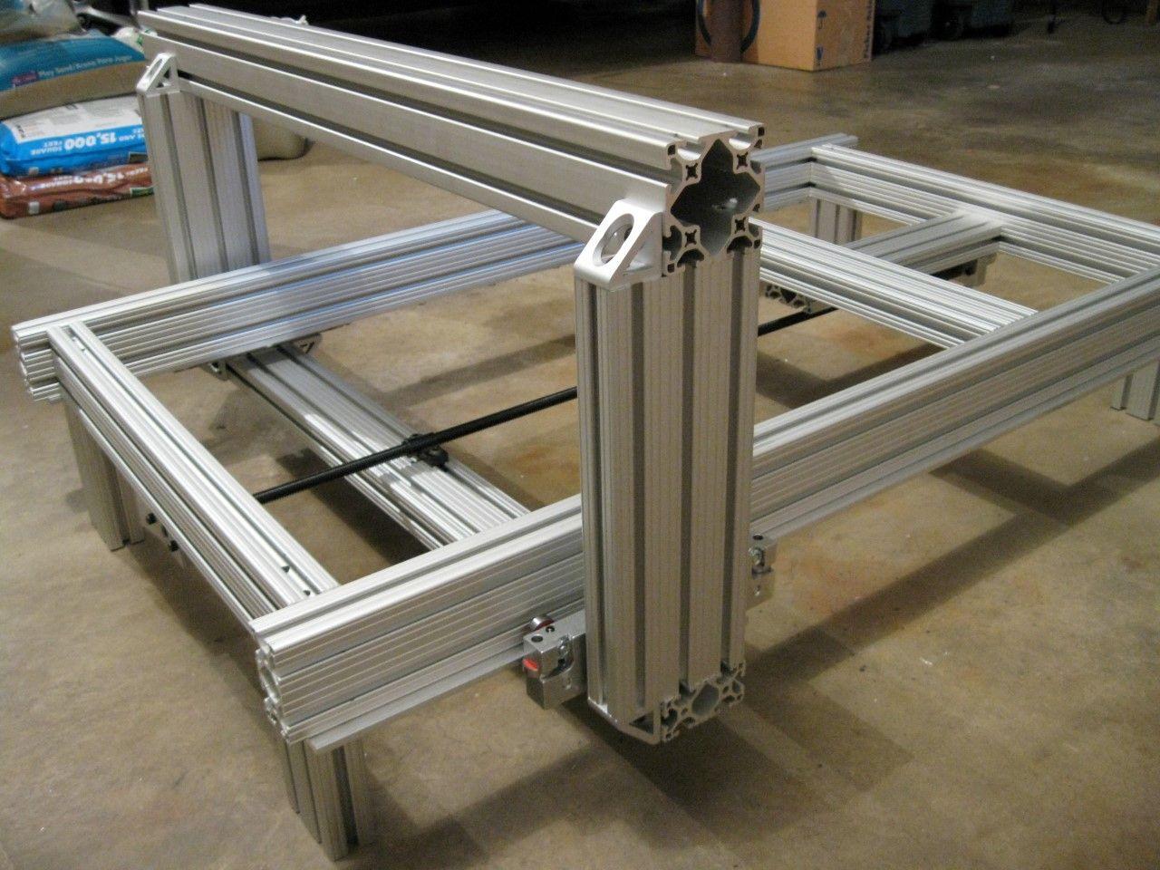2' x 3' Custom CNC Router from 80/20 Aluminum