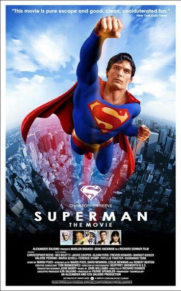 Resultado de imagen para Superman: The Movie (1978) movie poster official
