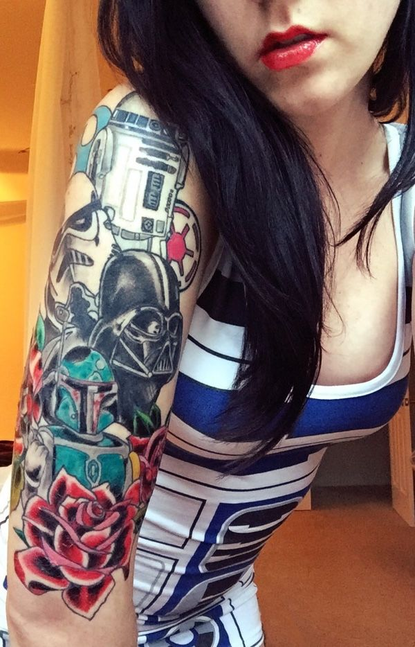 The Perfect Dress To Match A Star Wars Tattoo Read more at
