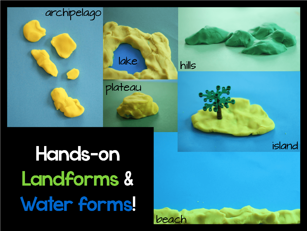Landforms And Water Forms Resource Roundup