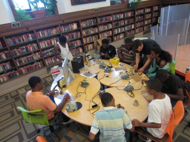 A Library Maker-Space Teen Summer Camp? I'm In