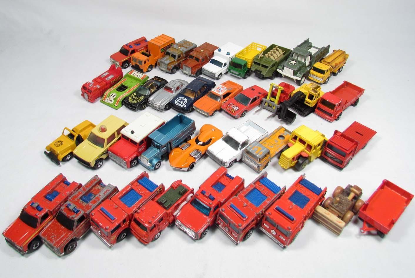 vintage toys Vintage Matchbox Cars Large lot of vintage
