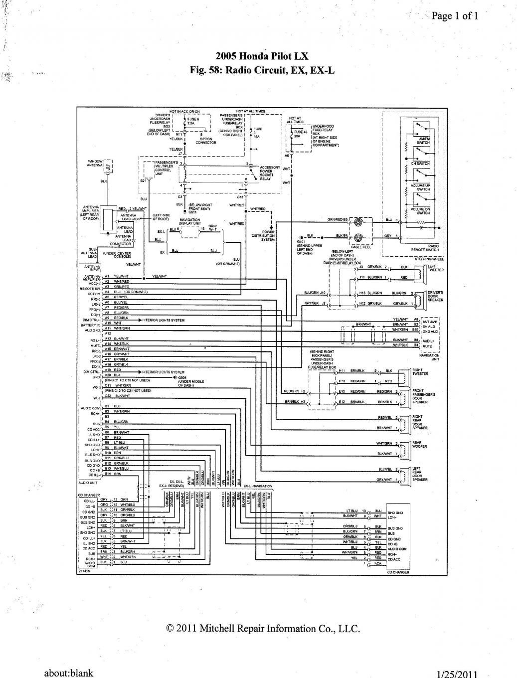 Electrical Schematic Honda Accord