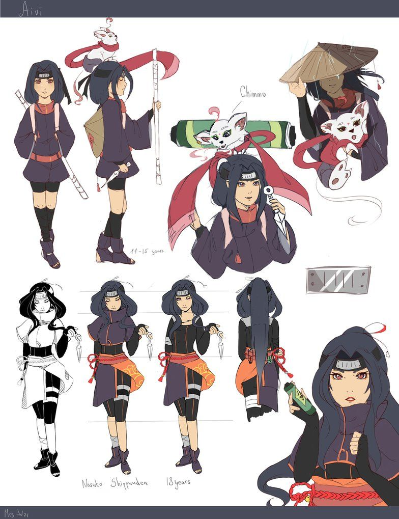 "My character on the anime ""Naruto"" ( I love more than"