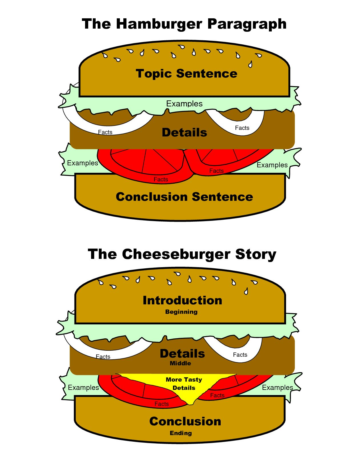 The Hamburger Paragraph Can Also Be Adapted For Essays