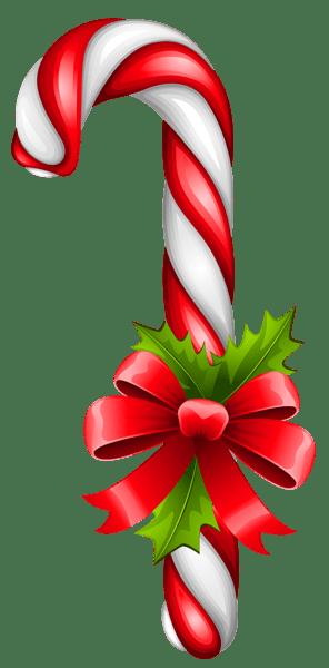Christmas Candy Cane Transparent PNG Clipart Clip_ART