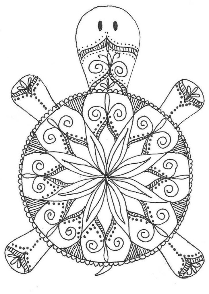 Mandala Coloring Pages For Adult