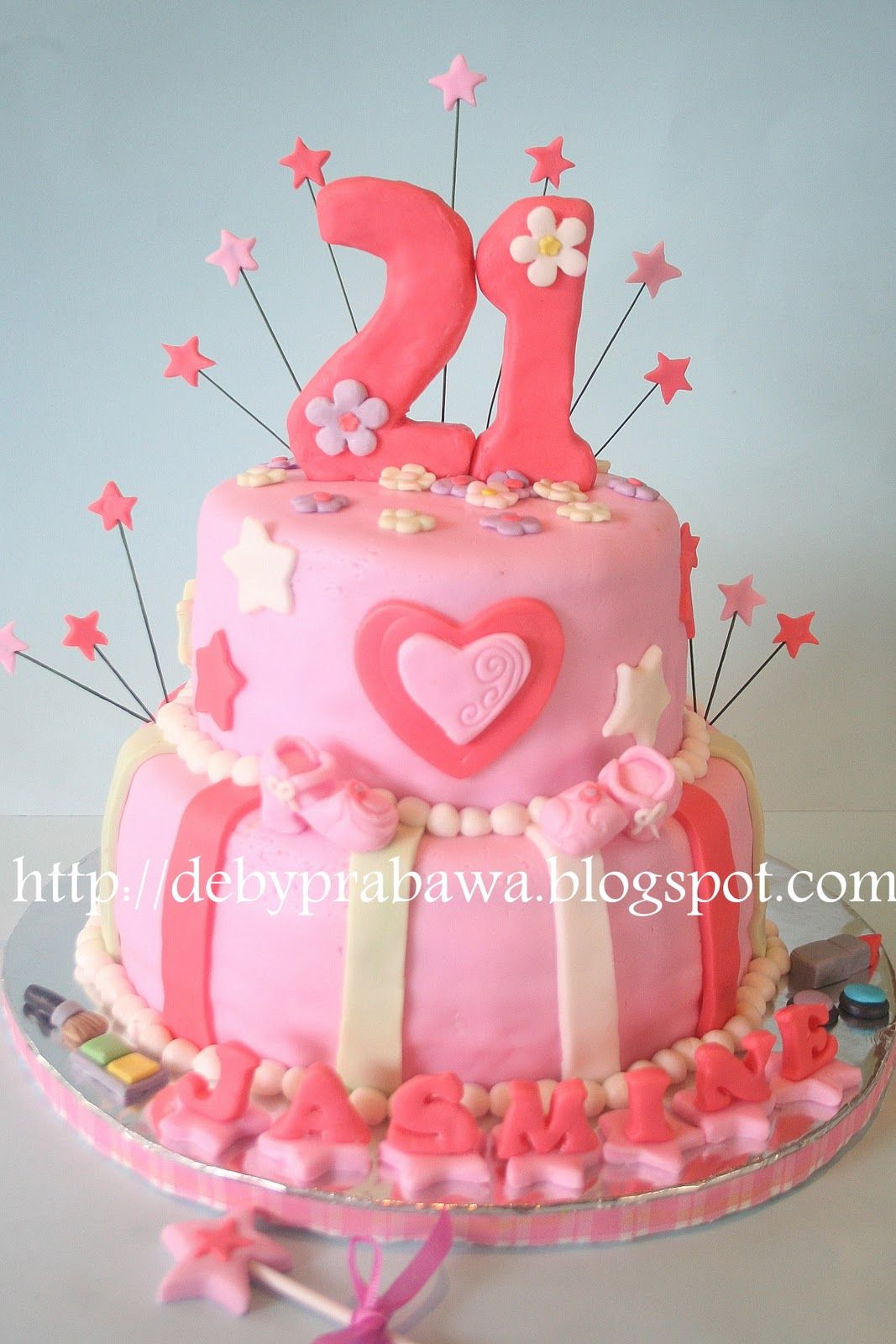 Beautiful Birthday Cakes For Girls Butterfly Cake 21st