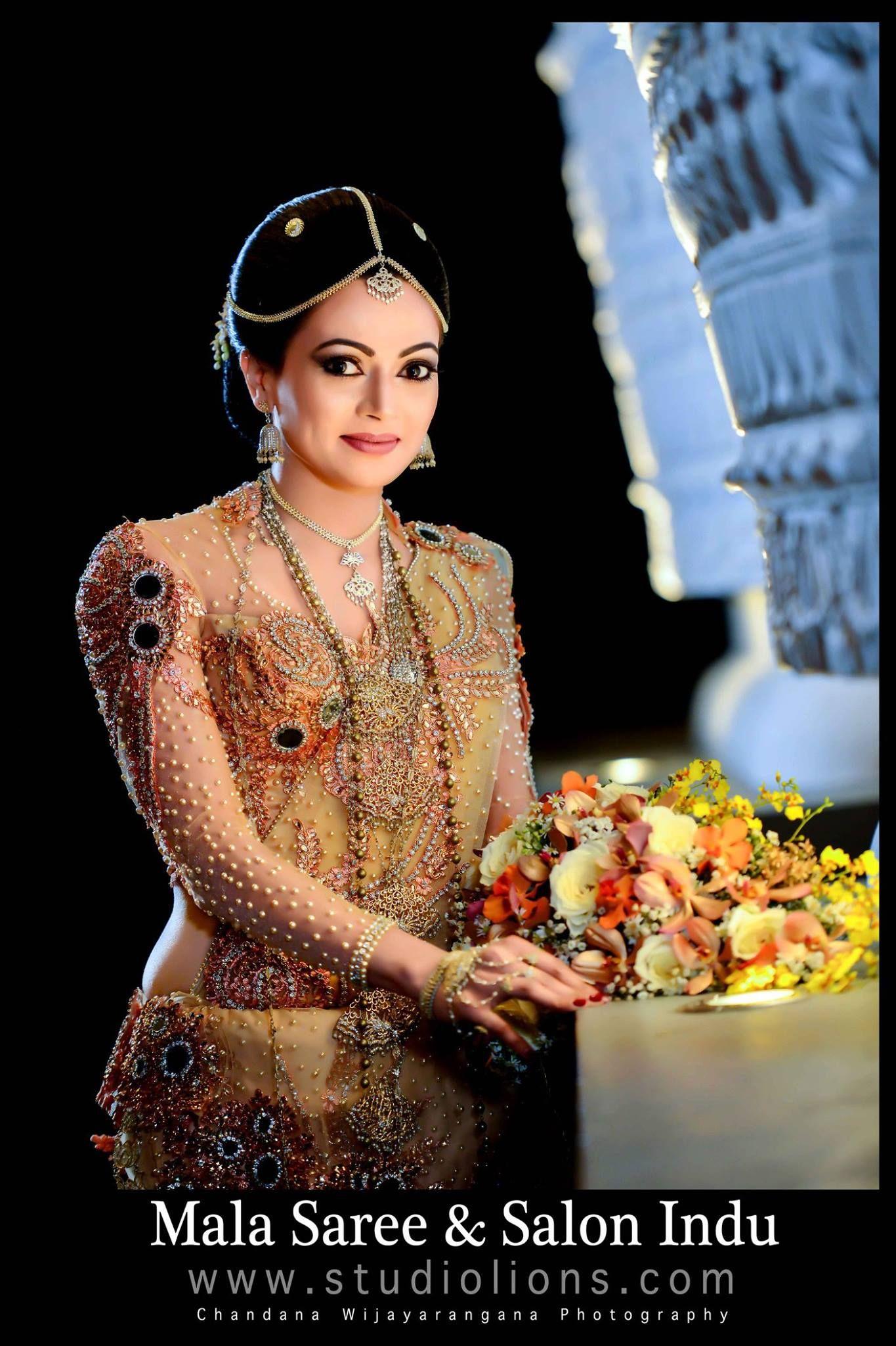 Sri Lankan sarees by Mala saree Sri Lankan Weddings