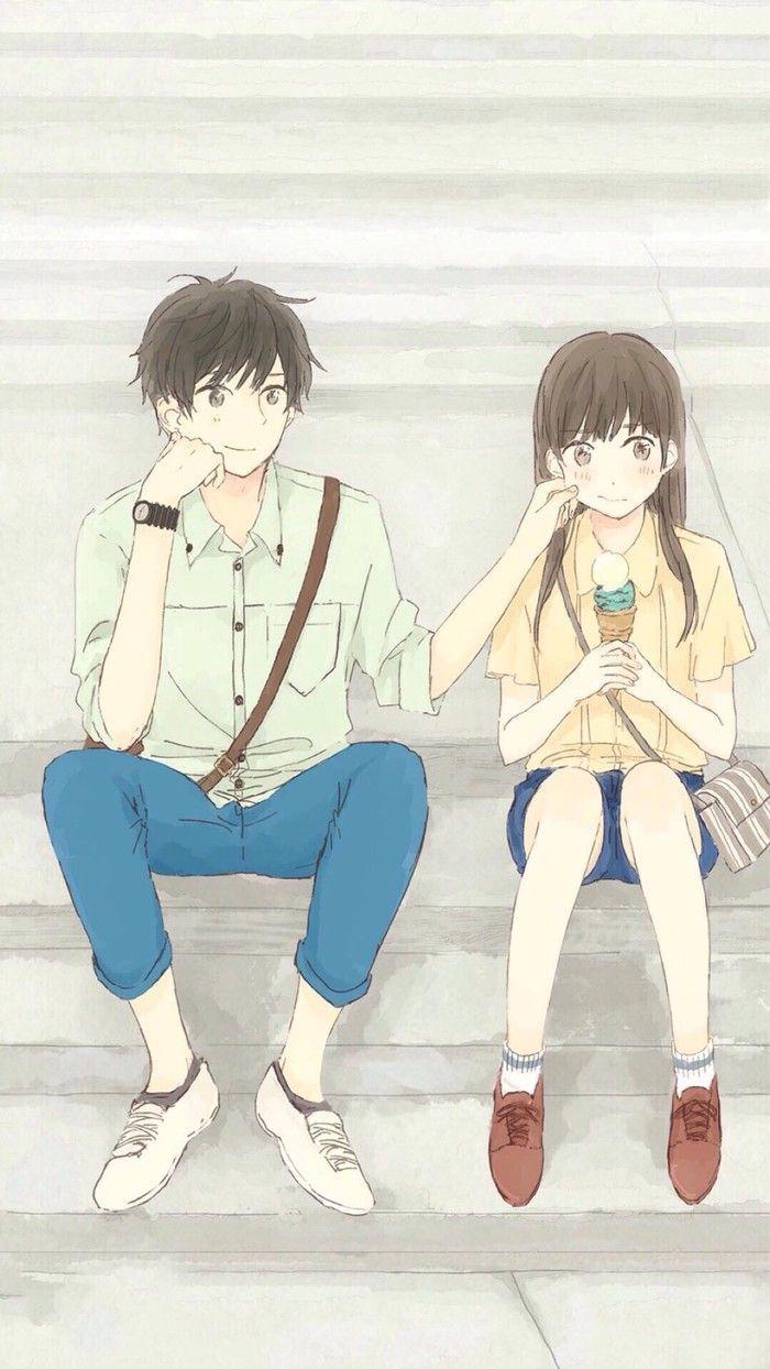 Kết quả hình ảnh cho anime couple cute ảnh Couple đẹp