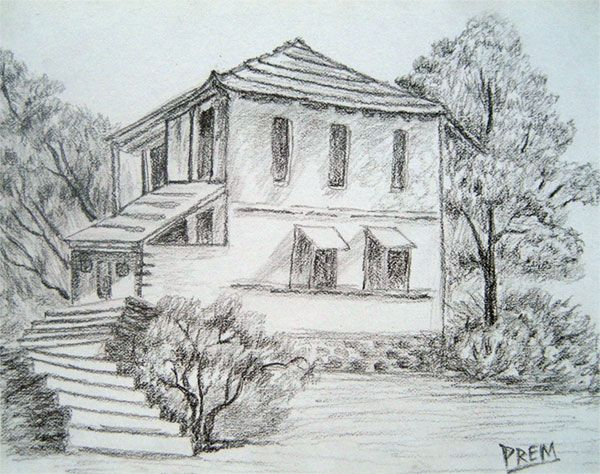 Easy Pencil Sketches Of Landscapes For Beginners – HD ...