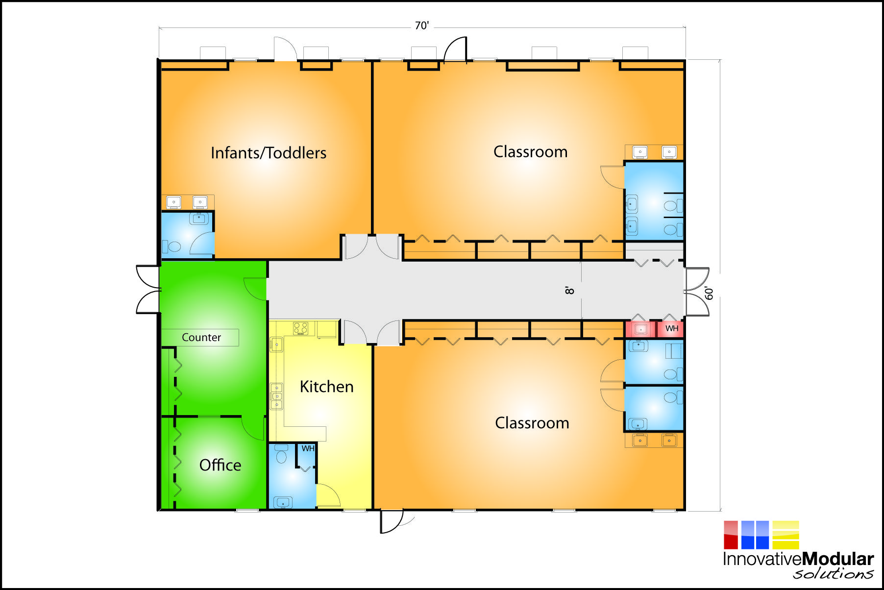 Day Care Designs Floor Plans