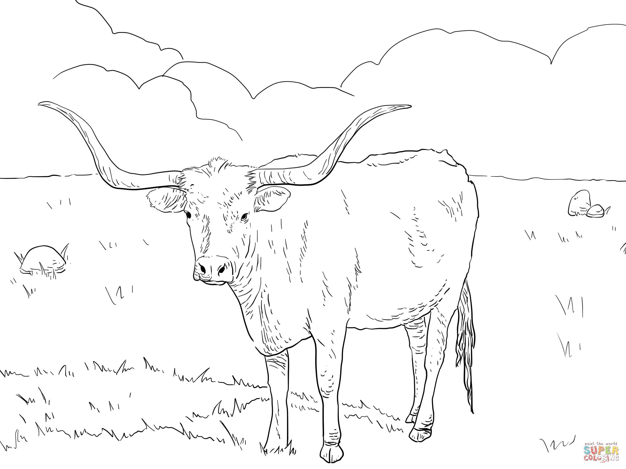 Free Texas History Coloring Pages