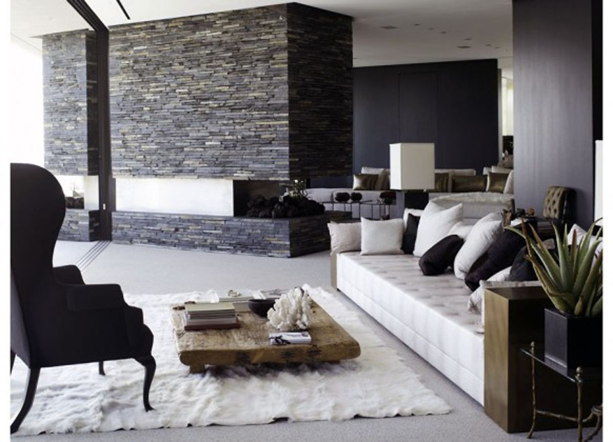 Modern living room pinterest. modern tv room decorating ideas ...