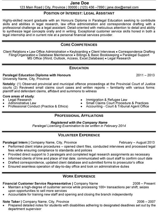 1000 images about best legal resume templates amp samples on