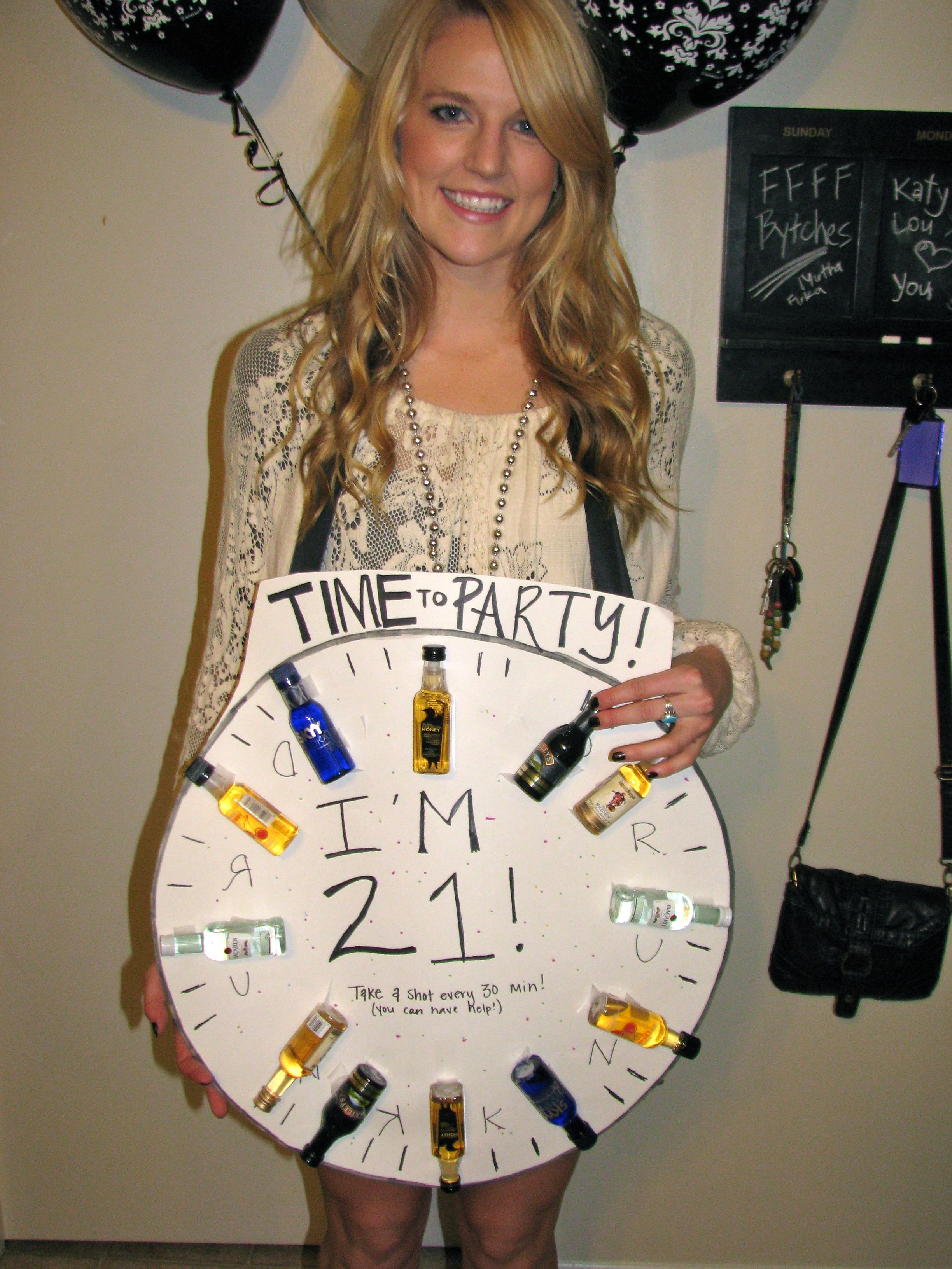 Accredited Online College Degree 21st birthday, Clocks