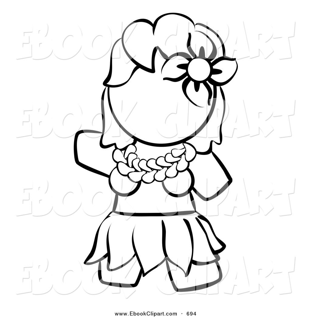 Hula Dancer Clip Art