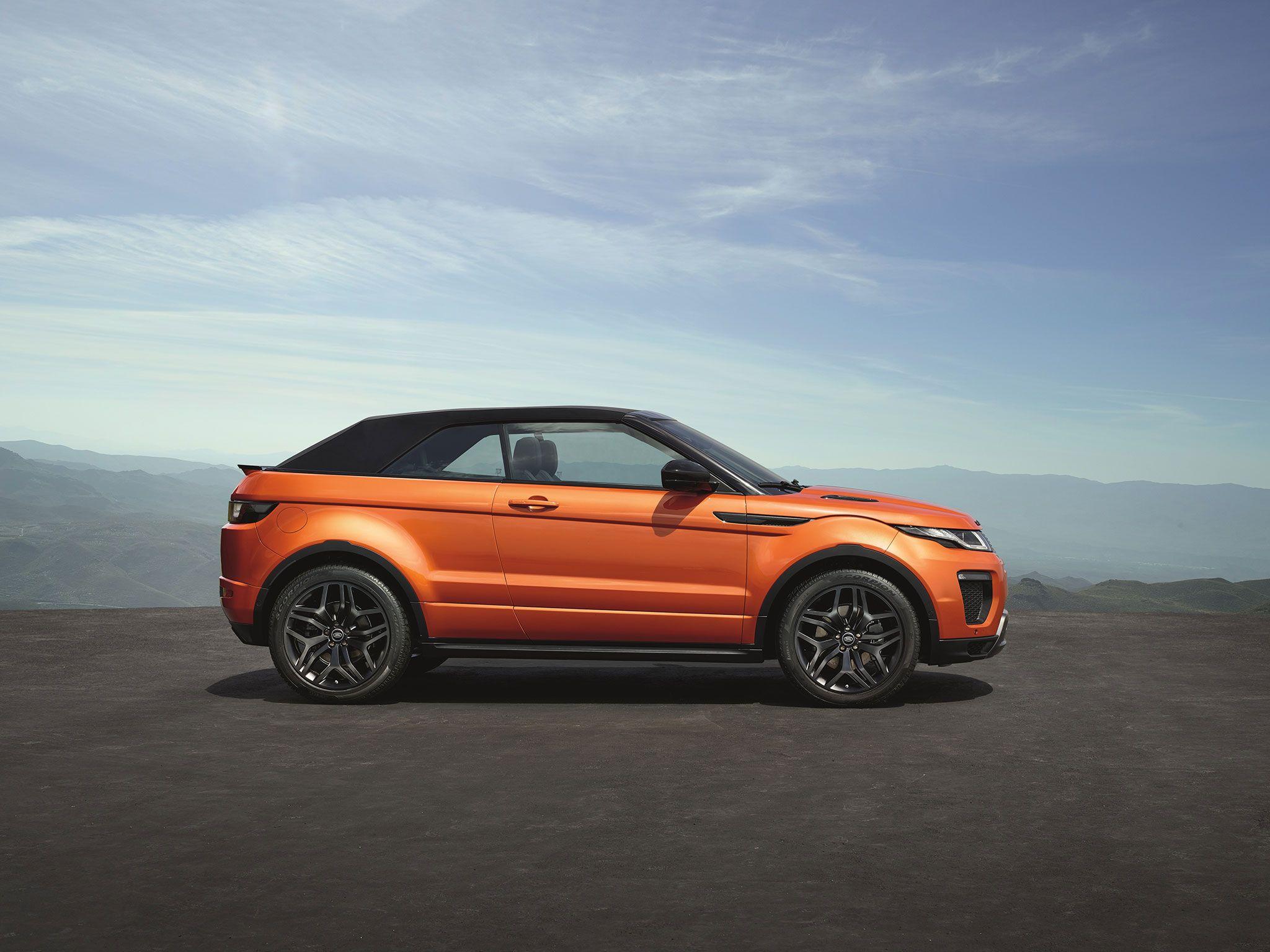 Los Angeles 2015 Range Rover Evoque Cabrio