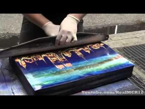 Amazing Talent New York City Spray Paint Art You
