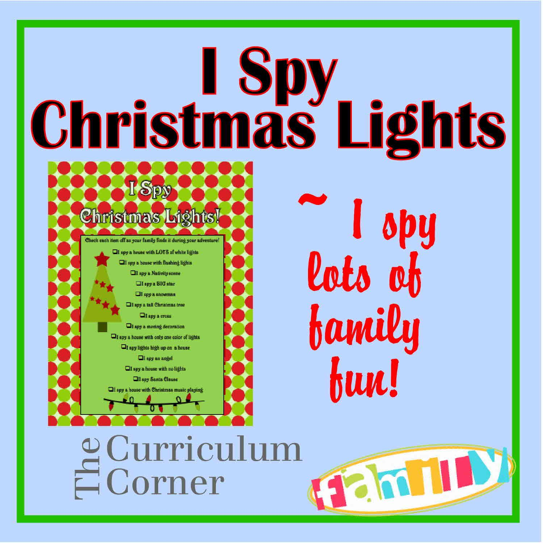 I Spy Christmas Lights