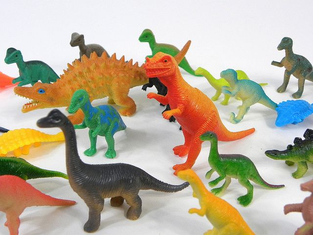 Plastic Toy Dinosaurs Detail Flickr Photo Sharing