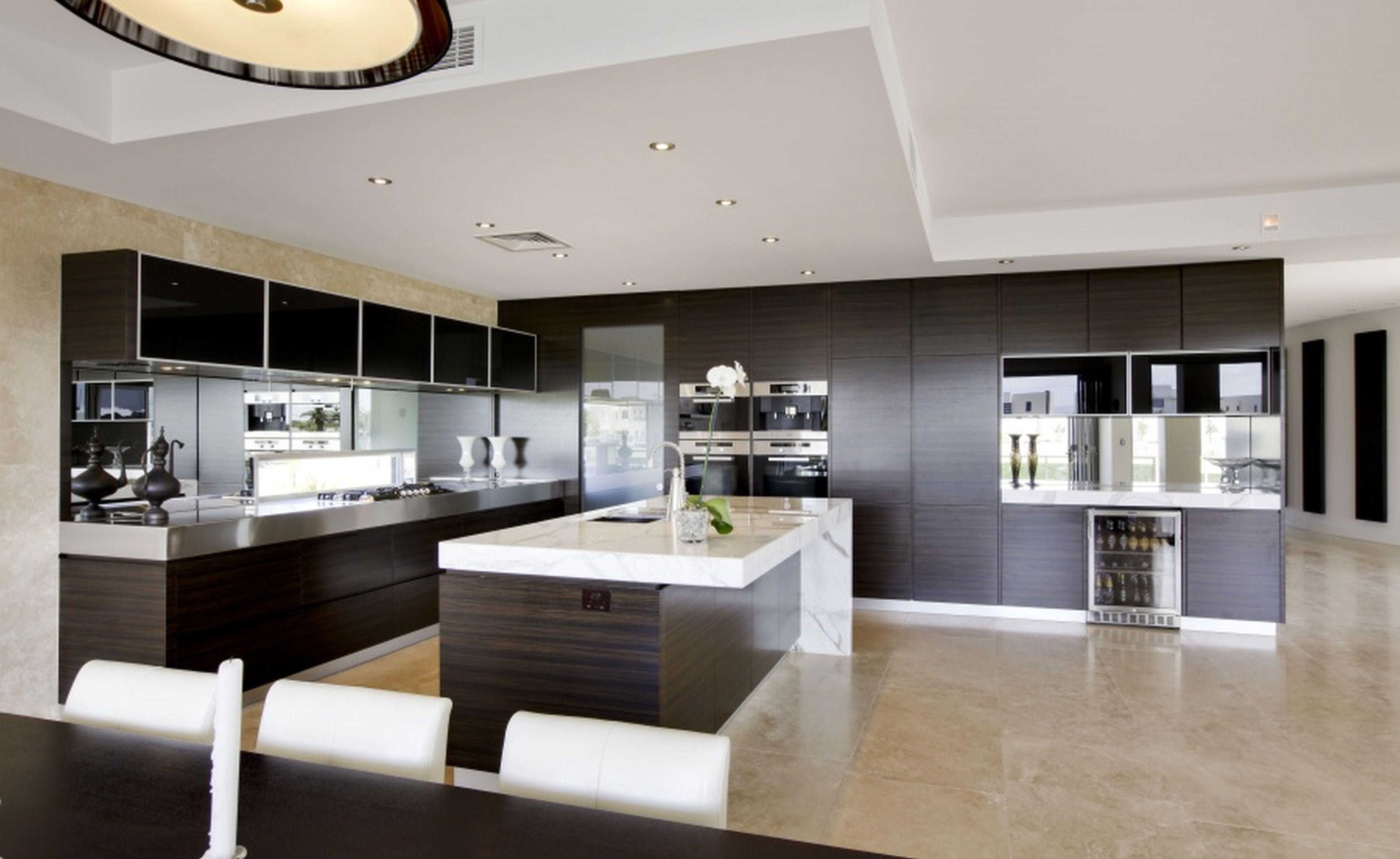 Modern Mad Home Interior Design Ideas Beautiful Kitchen
