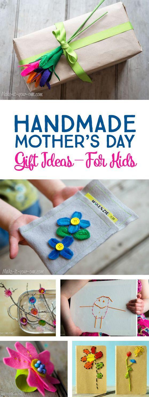 Handmade Mother's Day Gift Ideas Children Can Make *Love