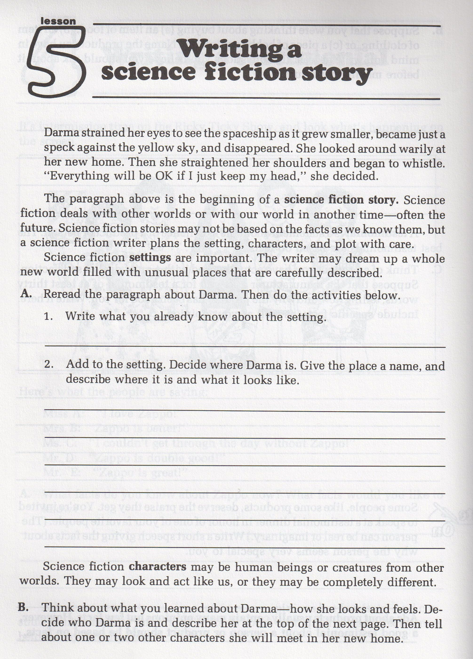 Worksheet Elements Science Fiction Worksheet Best Free