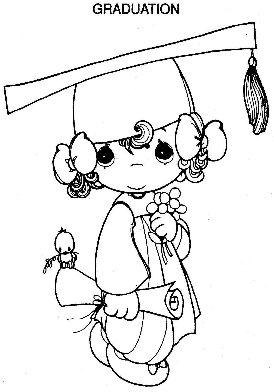 Precious Moments Graduation Clipart