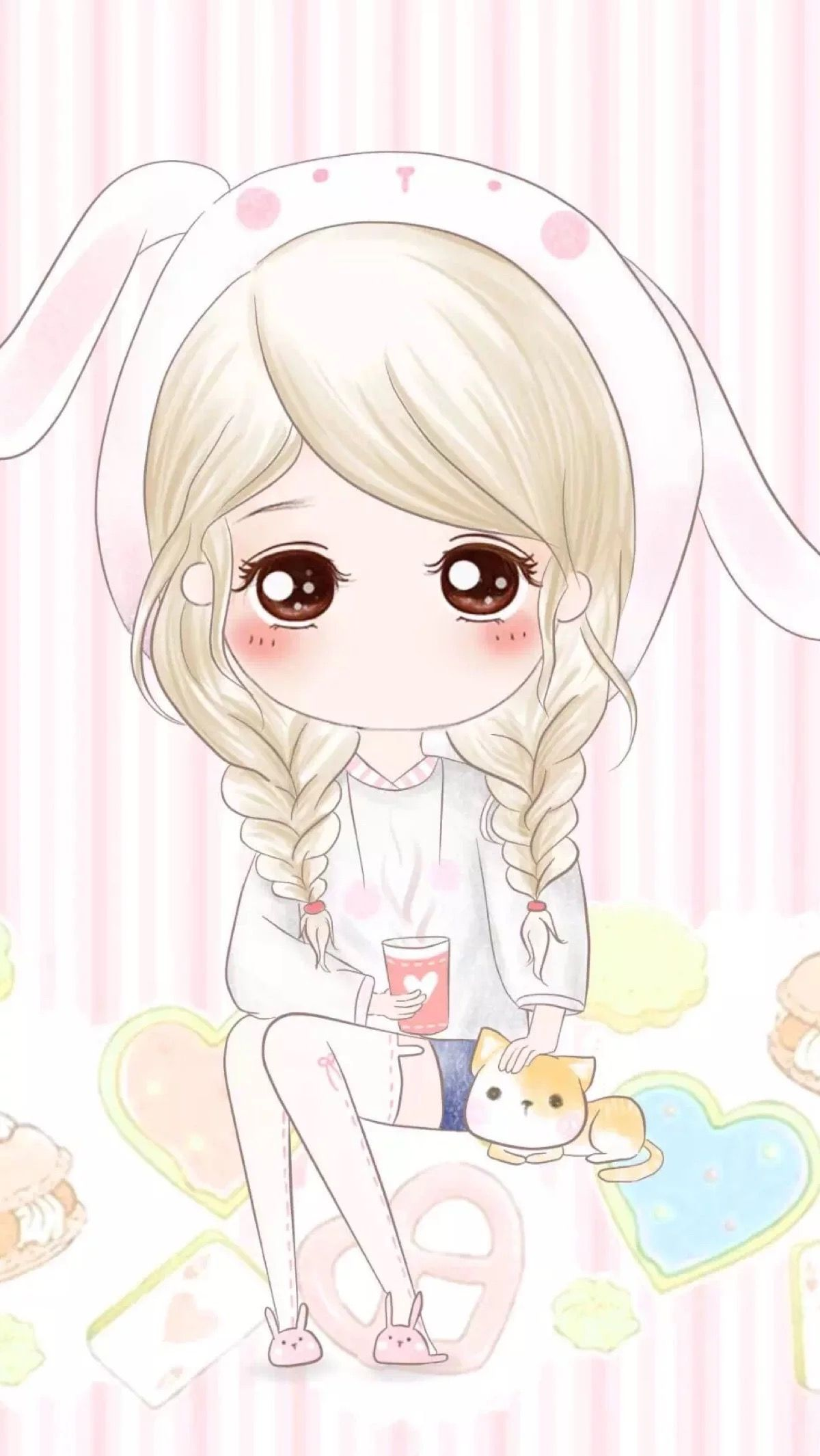 Pin by Pankeawป่านแก้ว on Cute Cartoon Pinterest Chibi