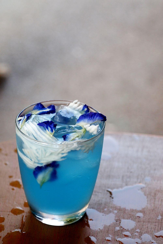 Butterfly Pea Coconut Juice Pretty Drink Pinterest