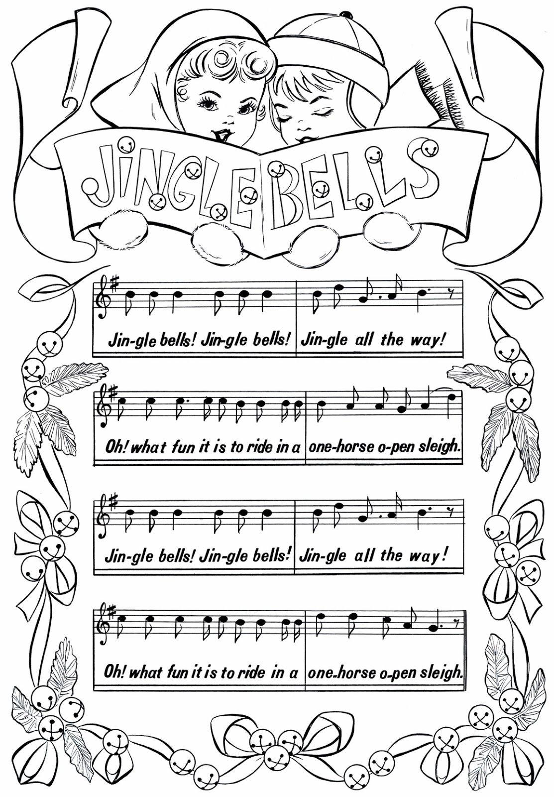 Free Printable Jingle Bells Sheet Music It is my opinion