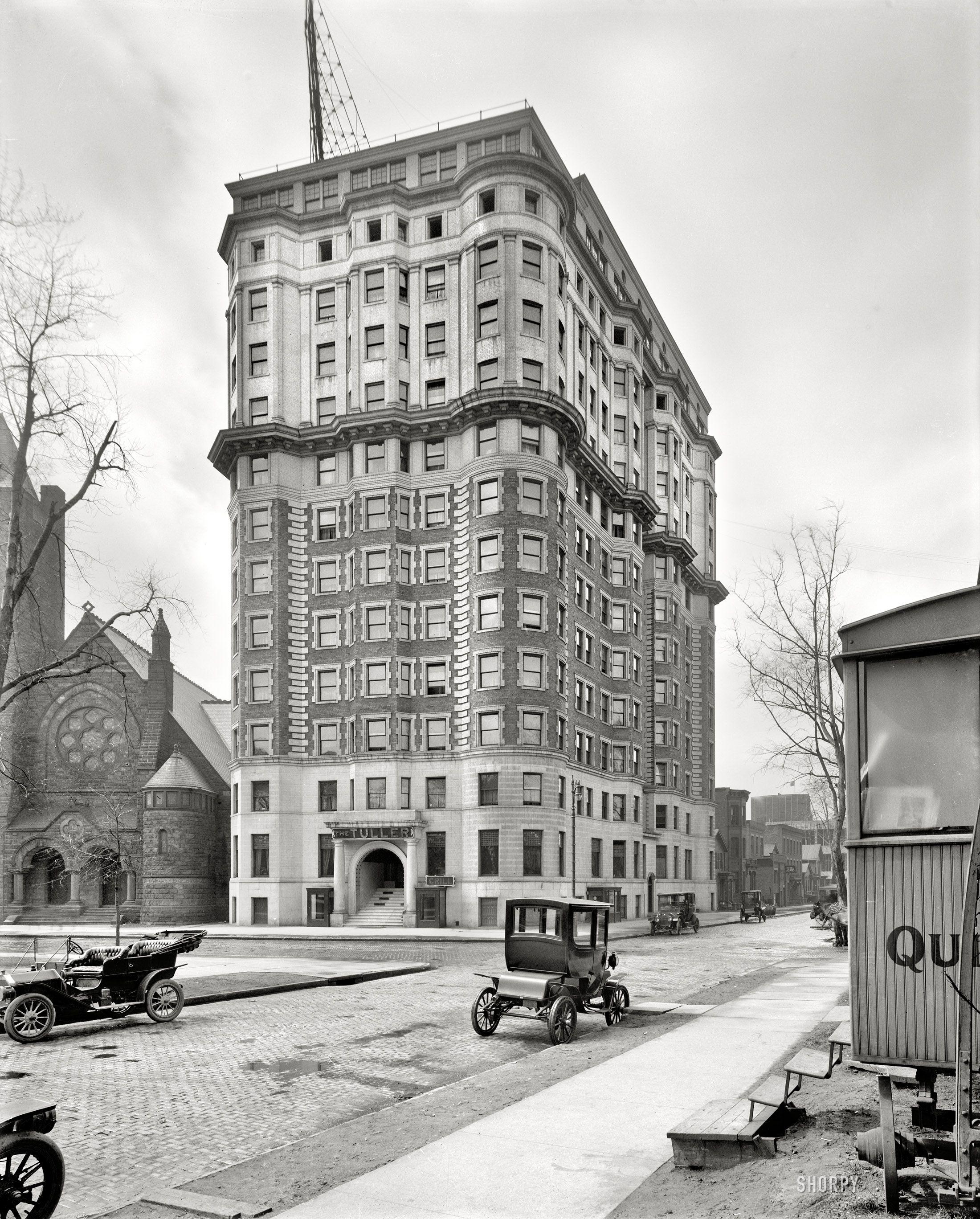 (c. 1914) Hotel Tuller, Grand Circus Park Detroit