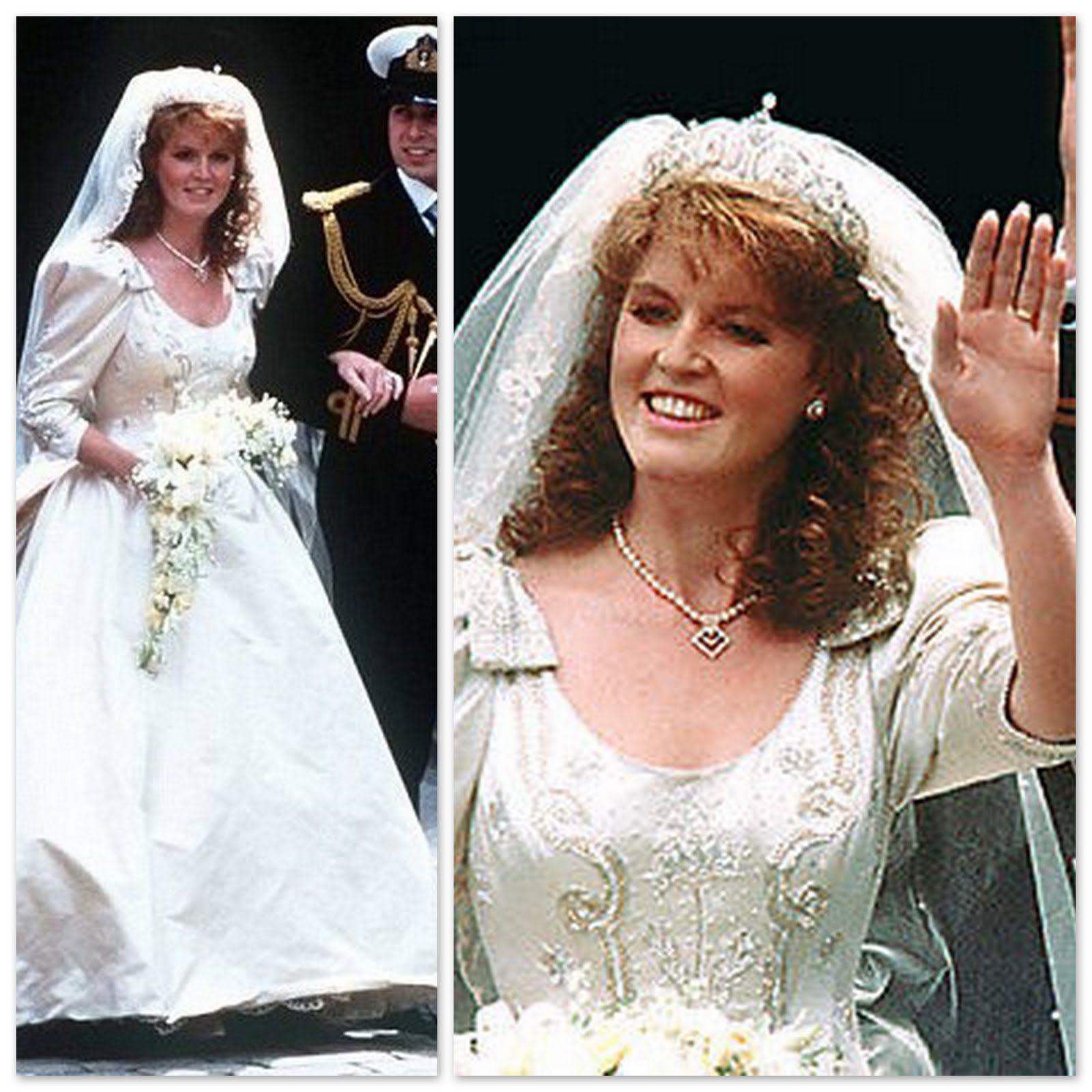 Sarah Ferguson, the former Duchess of York Wedding