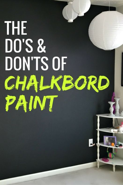 Do S And Don Ts Of Chalkboard Paint To Make A Design Statement