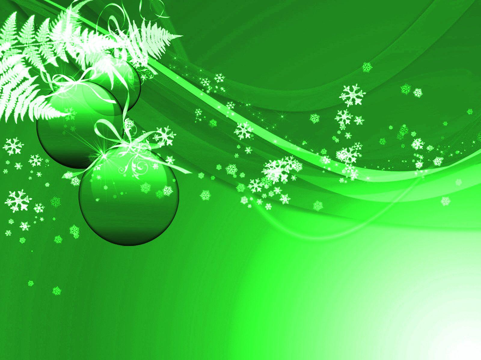 christmas backrounds Stock Detail Green Christmas
