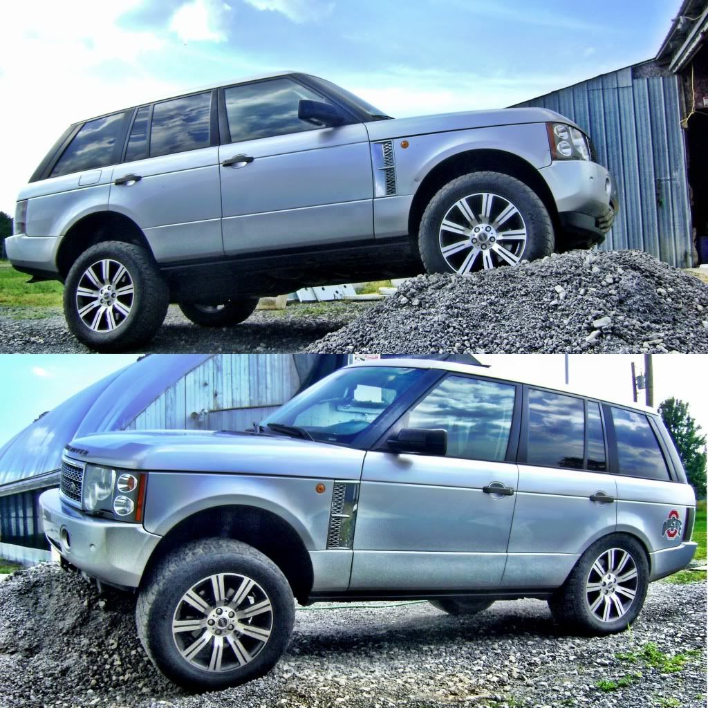 Modified Range Rover HSE L322 Expedition Portal My