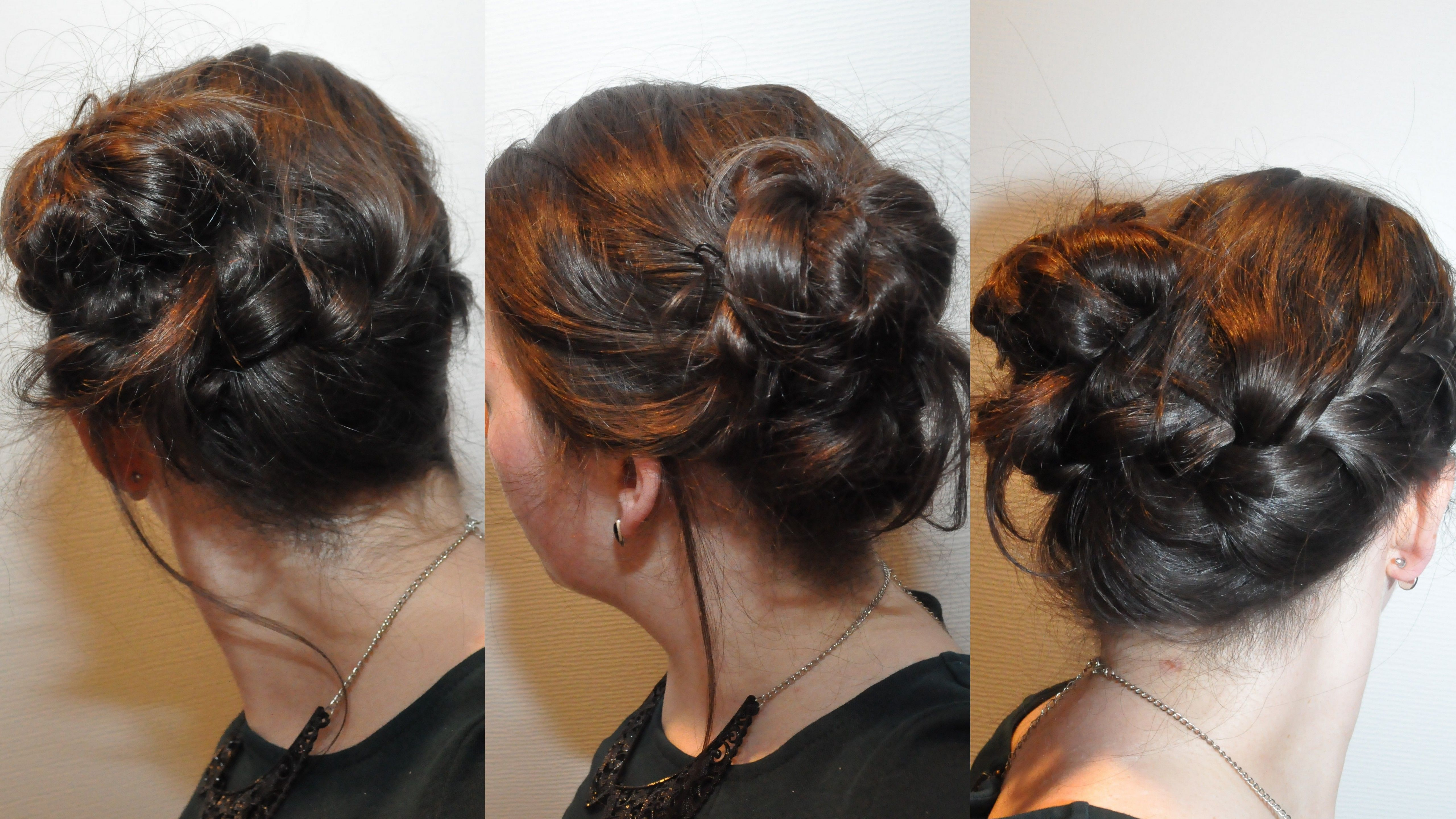 Braided updo for work party Dorienski s Daily Hairdo