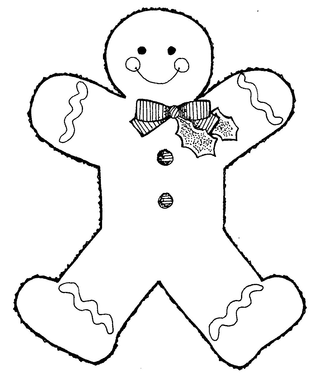 Gingerbread Man Clipart To Download