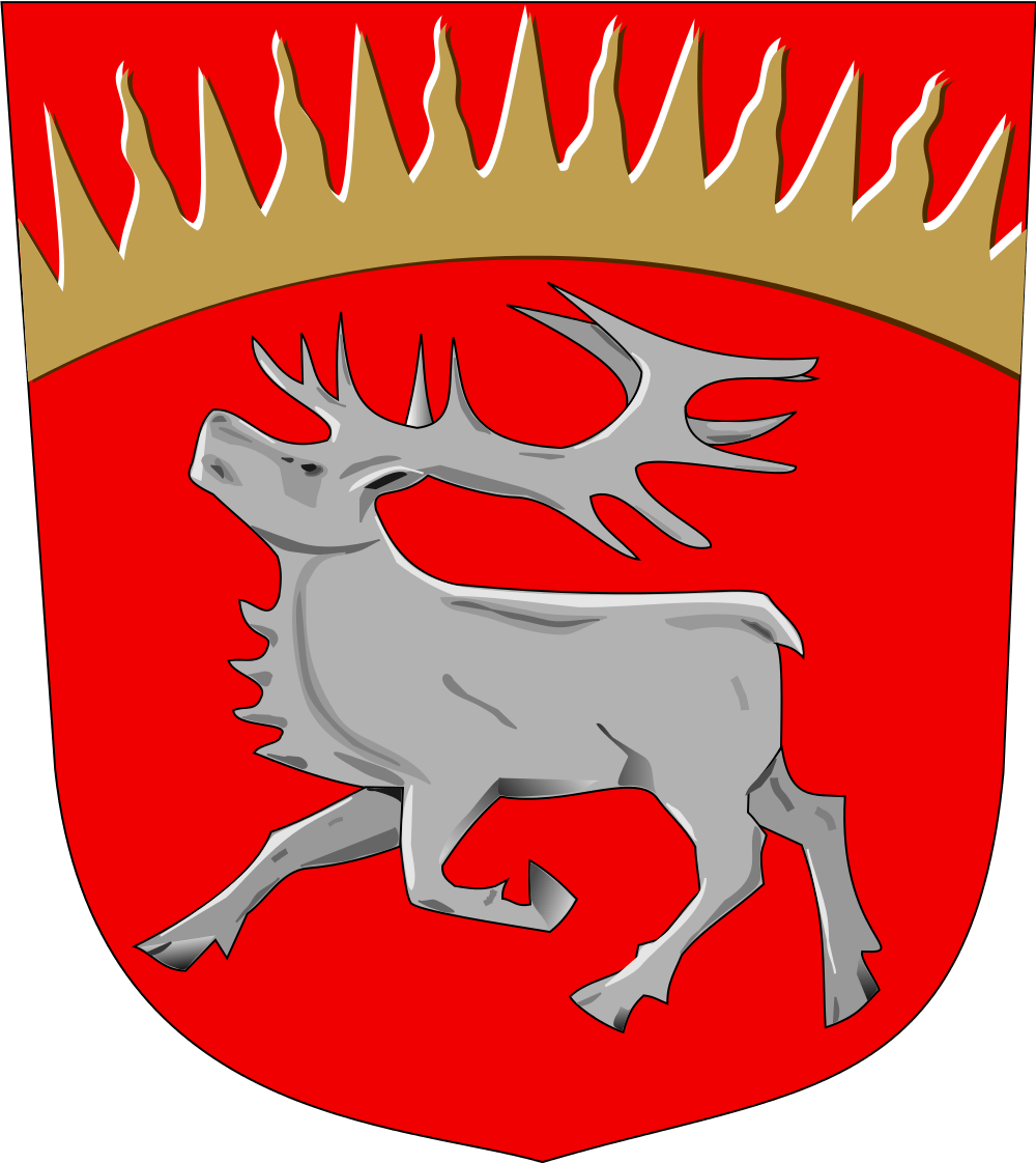 FileKuusamo.vaakuna.svg Family crest Pinterest Finland