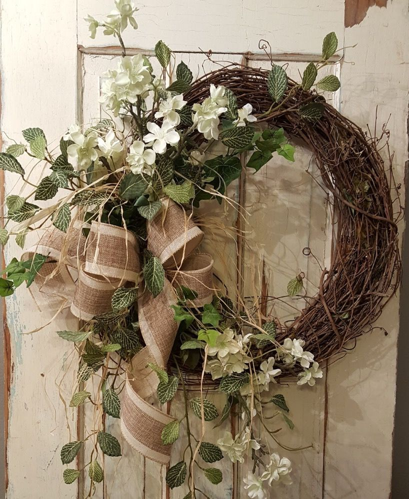 SPRING WREATH, EASTER, FARMHOUSE Wreath, SUMMER Wreaths