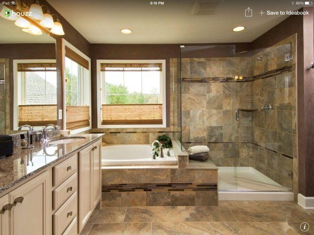 5 piece master bath remodel Bathroom Pinterest