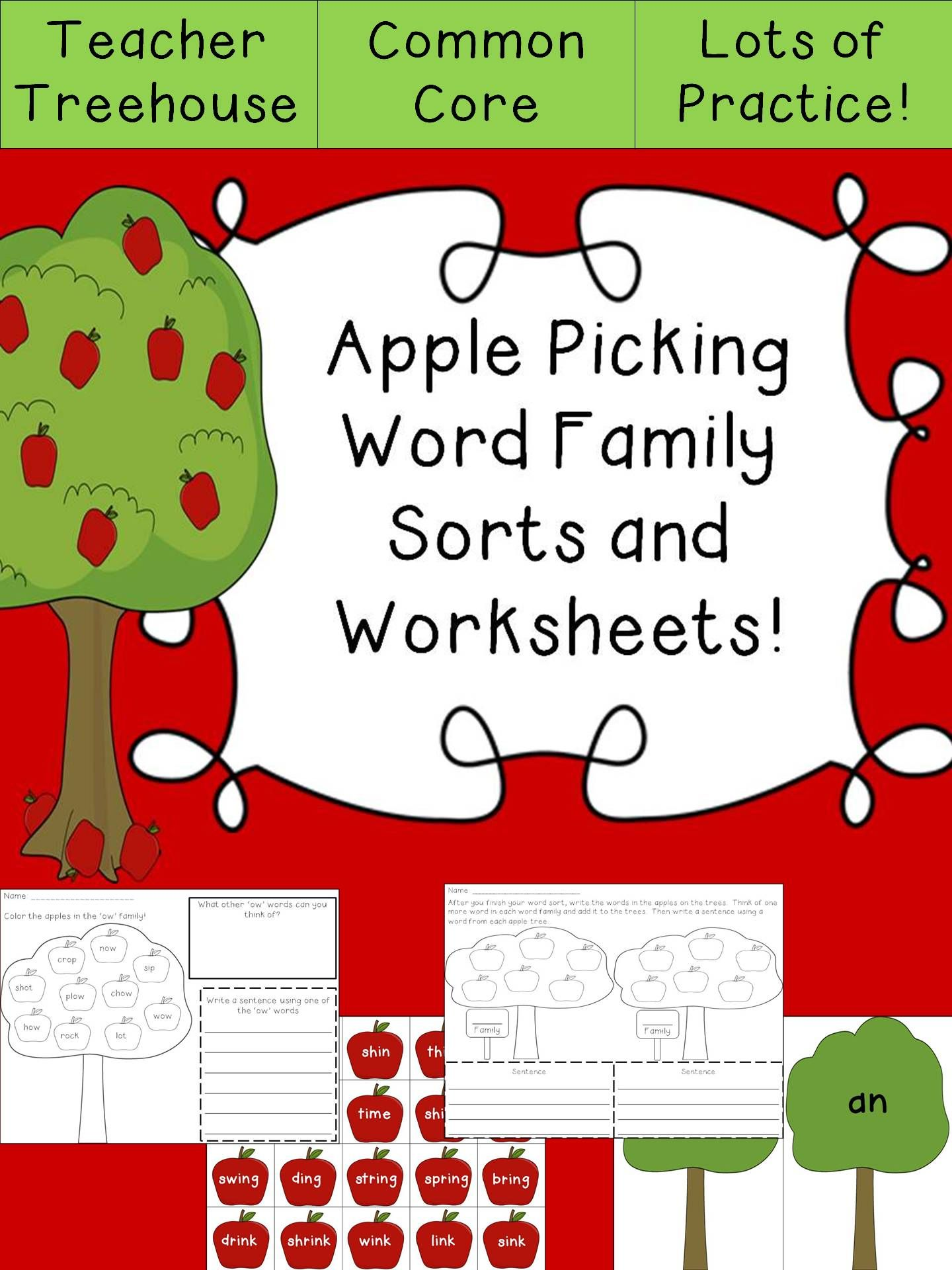 Looking For Fun Hands On Practice For Word Families This