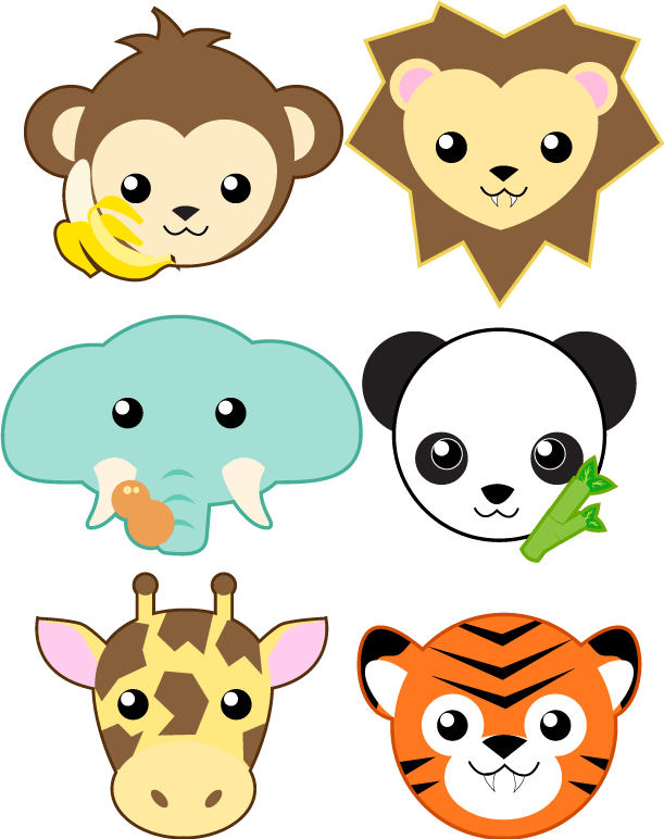 Zoo Animals หัวสัตว์ คน Pinterest Zoos, Animal and