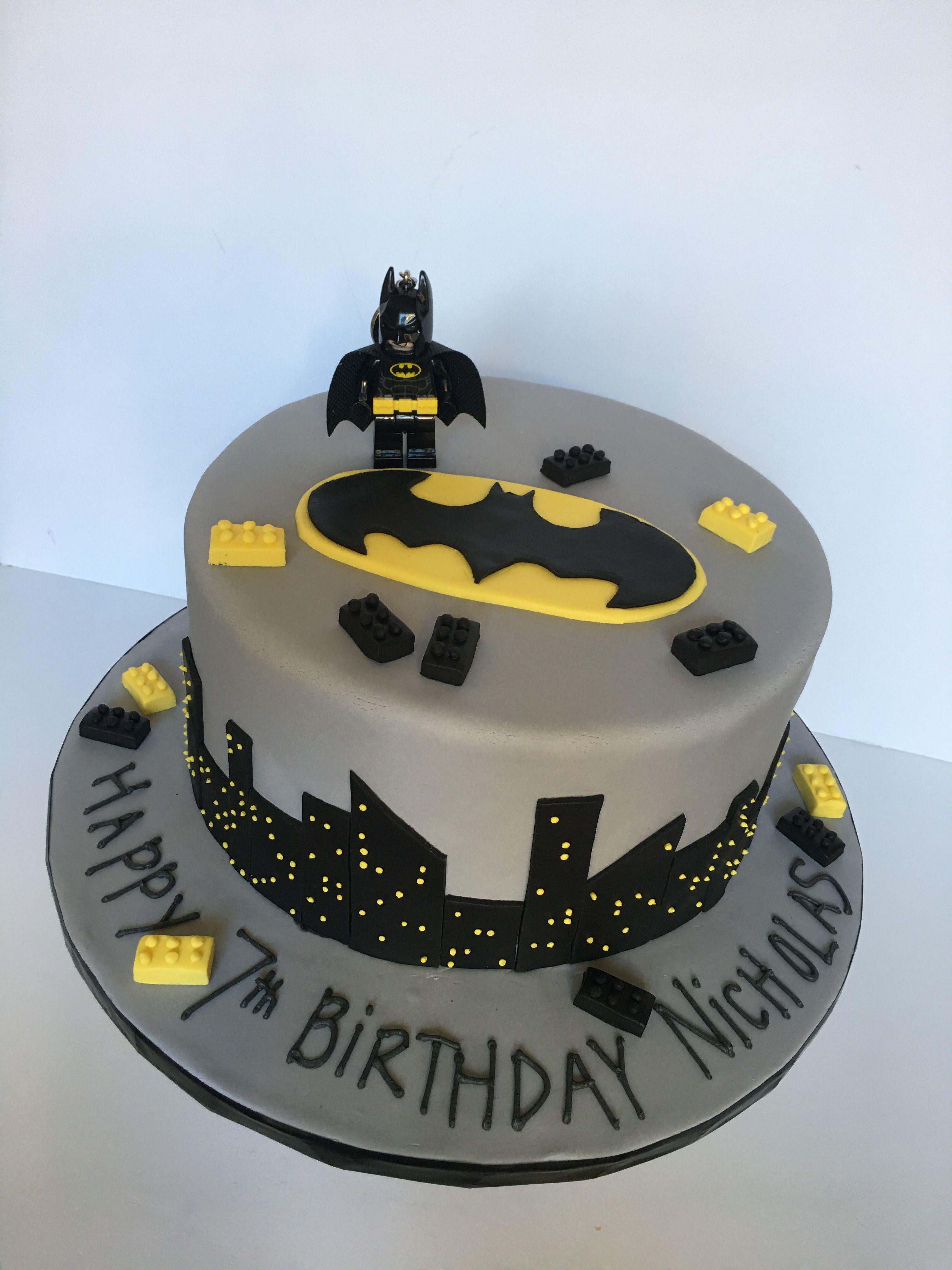 Lego Batman Cake For Boy S Lego Batman Birthday Party